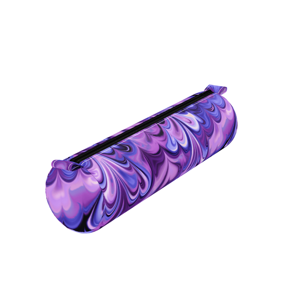 Purple Melting Marble Pencil Case