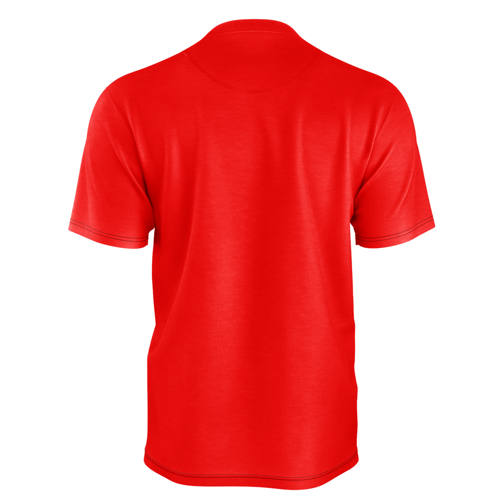 #LetsGo Men's T-Shirt (Red)