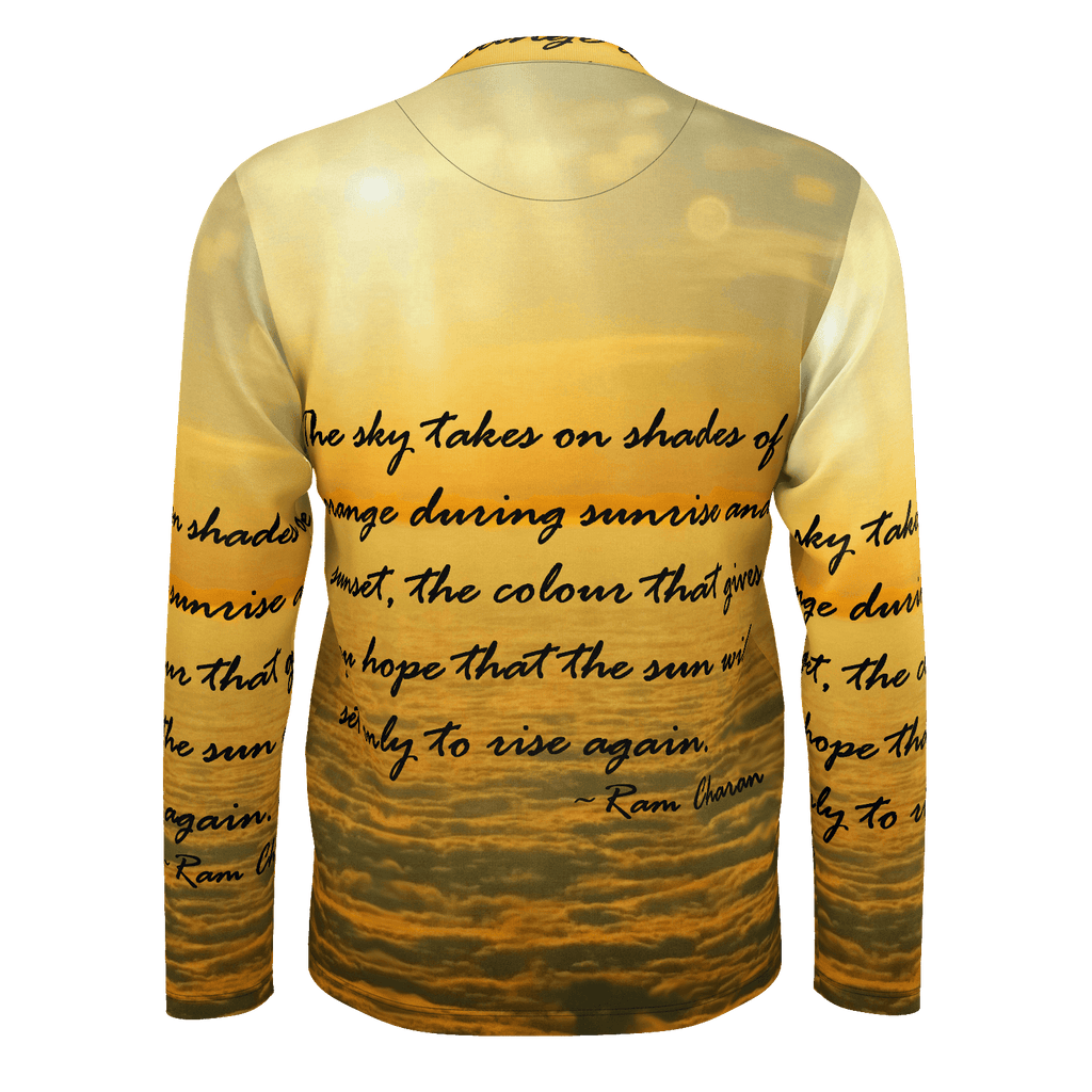 Sea of Clouds (Quote) Men's Long Sleeve SJ T-Shirt