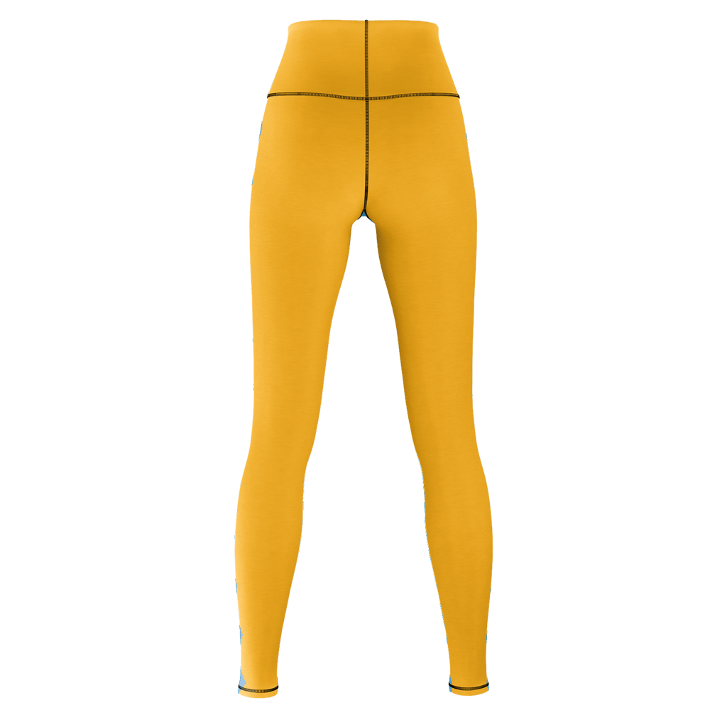 High Waist Leggings, Jersey cotton & Spandex blend