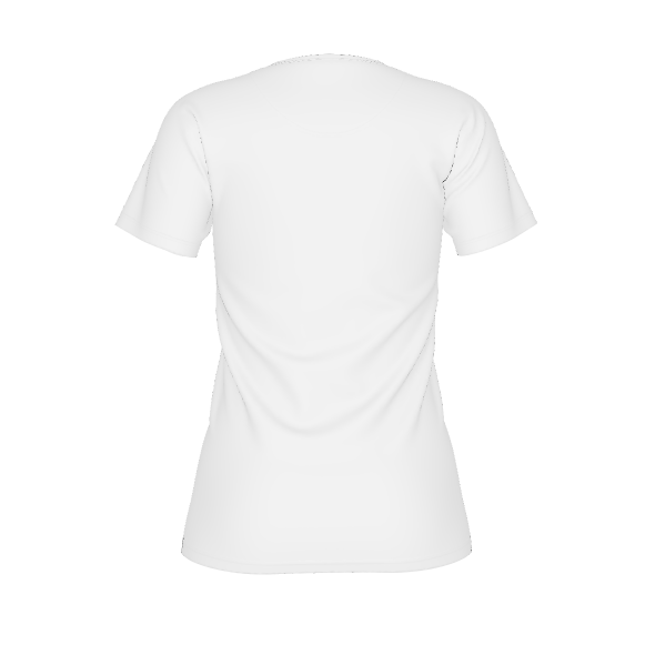 Women's white logo shirt - jersey
