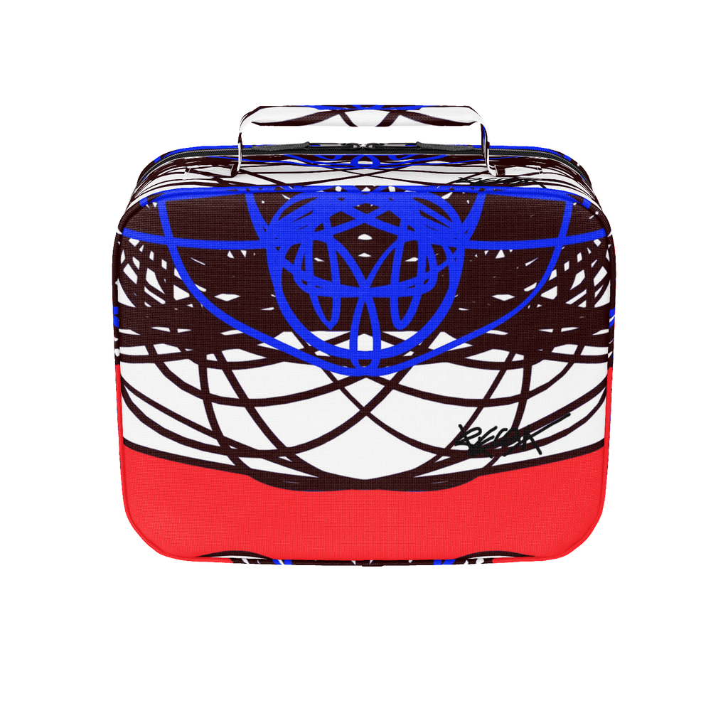 3 Colors Abstract RegiaArt Lunch Box