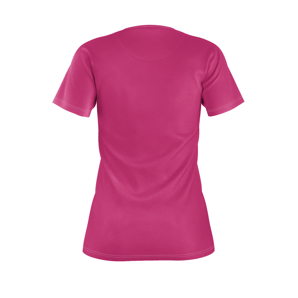 Beetroot Purple Women's Standard T-Shirt Fitted (Poly)