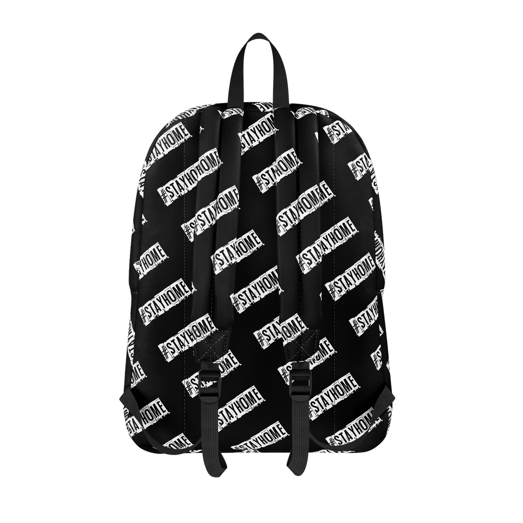 #StayHome Classic Backpack (Black)
