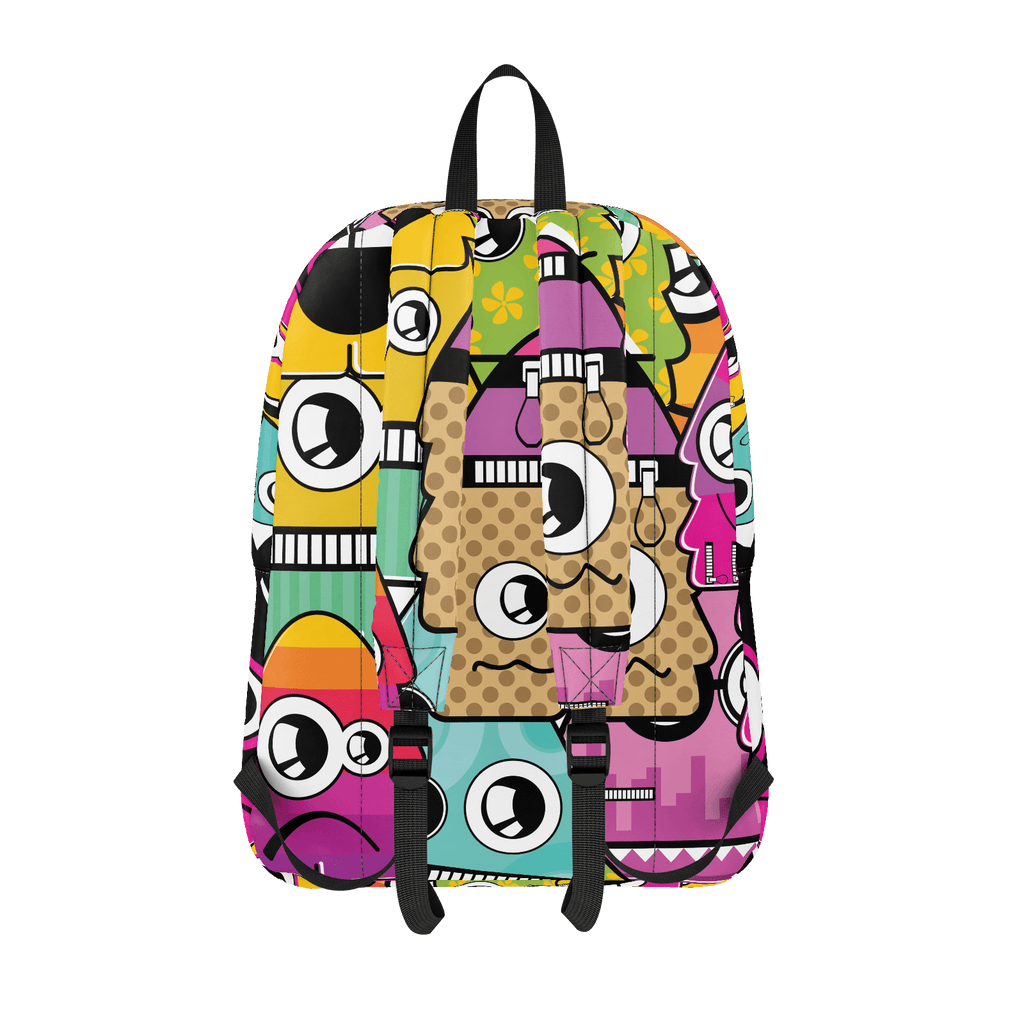 School Bus ALiens BAckpack 17