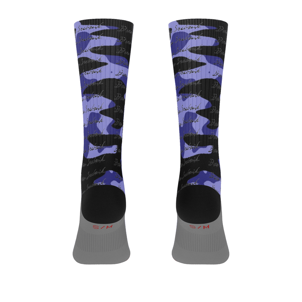 blu camo signature socks