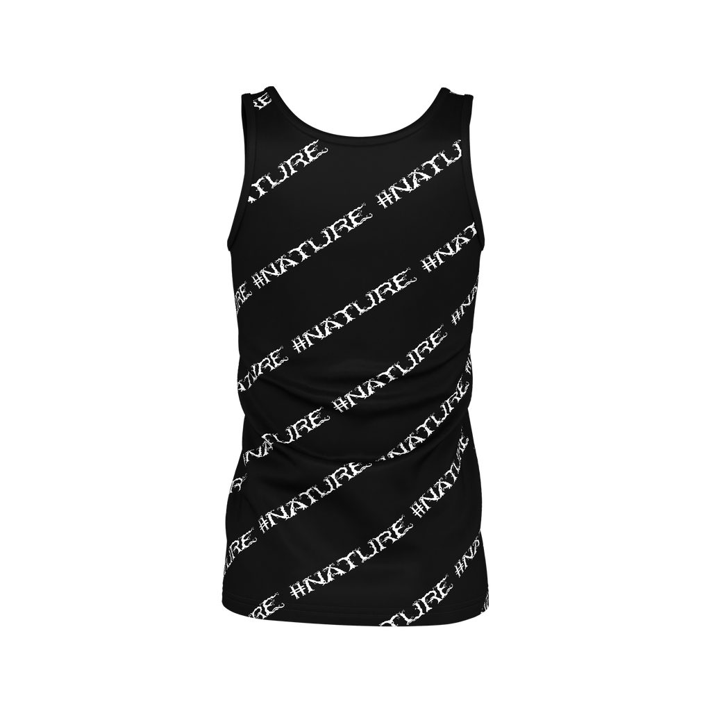 #Nature Women's SJ Tank Top (Black)
