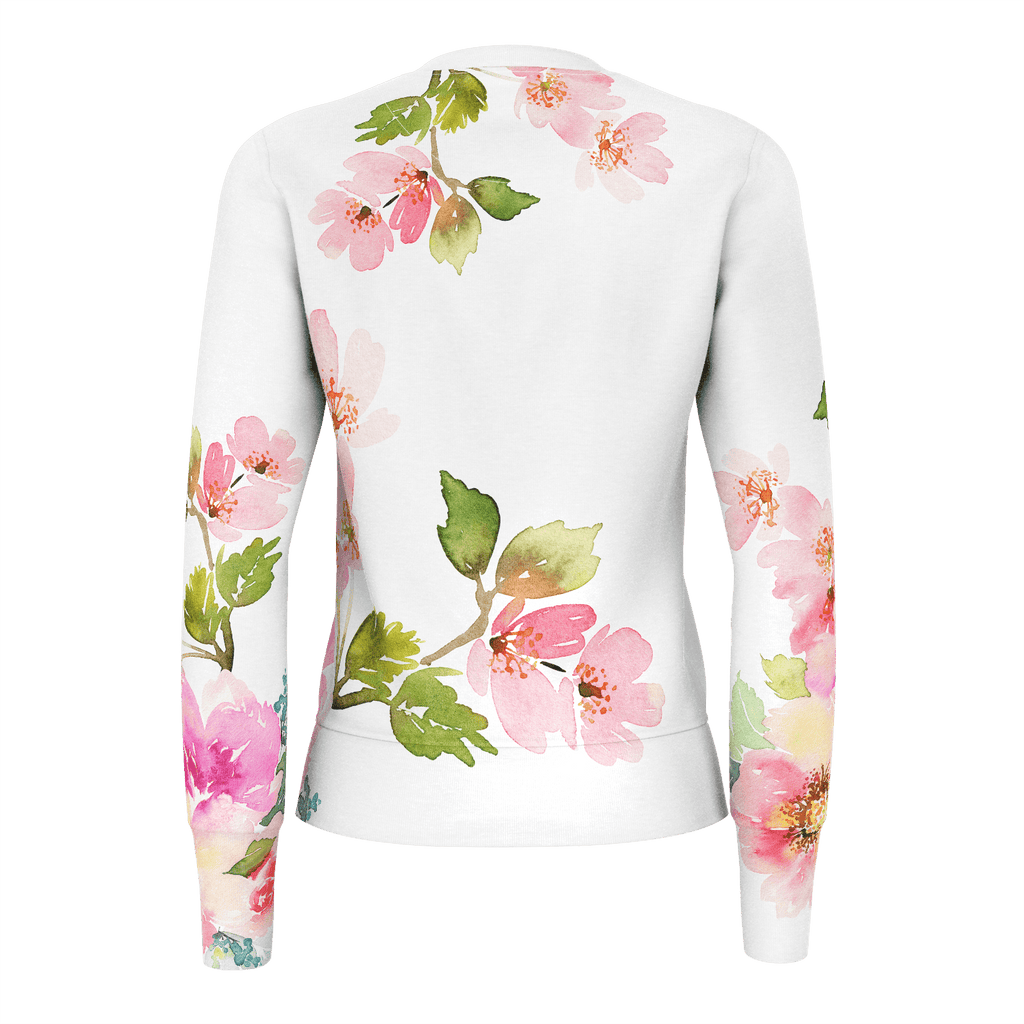 Womans Sweatshirt 350gsm Floral