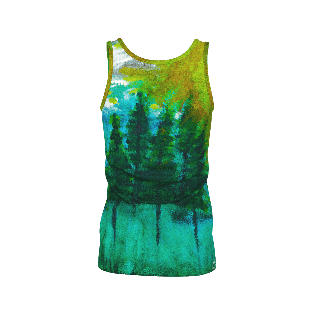 Green Forest Women's SJ Tank Top