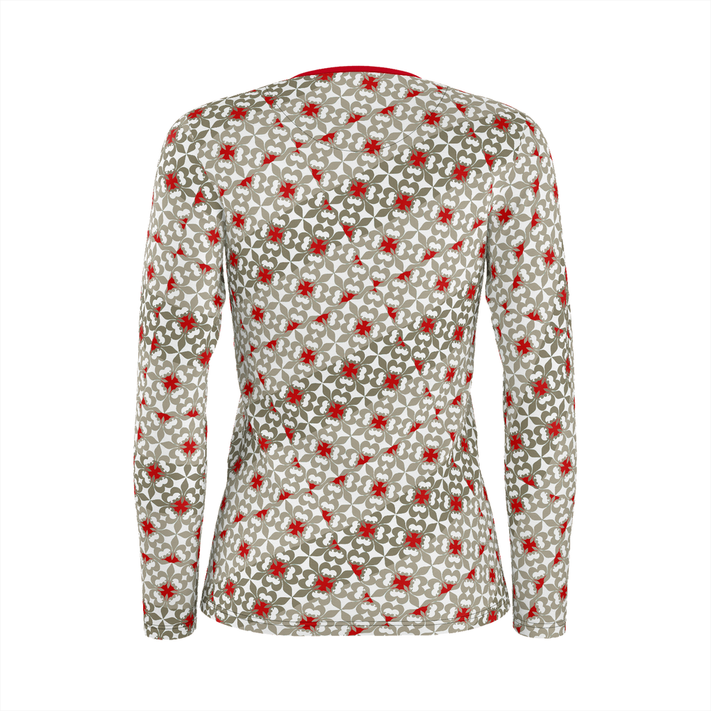 Patternias Women's long sleeve shirt