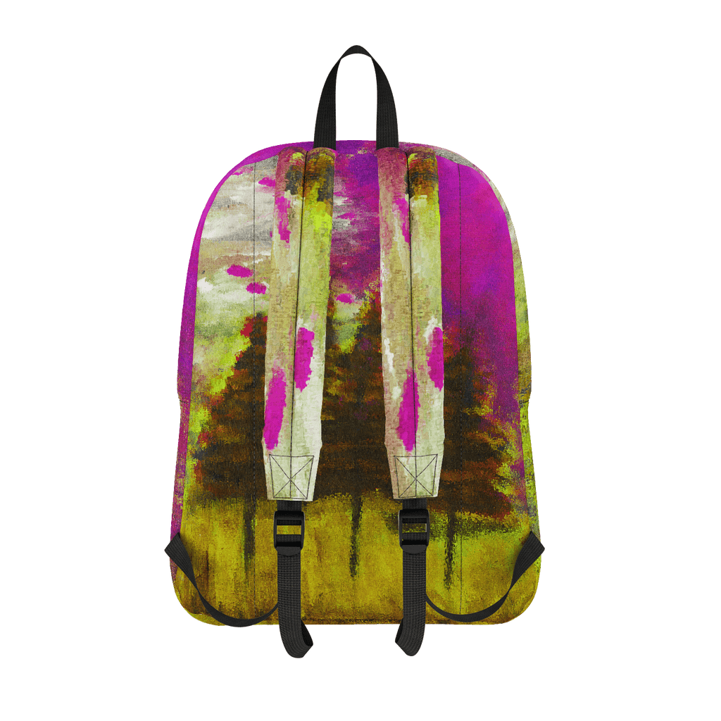 Yellow Forest Classic Backpack