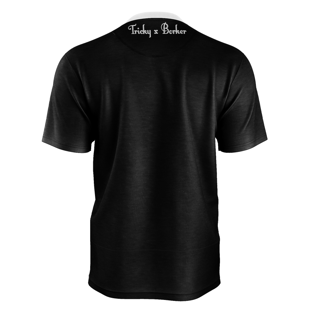 Tricky x Borker Mens black T-shirt