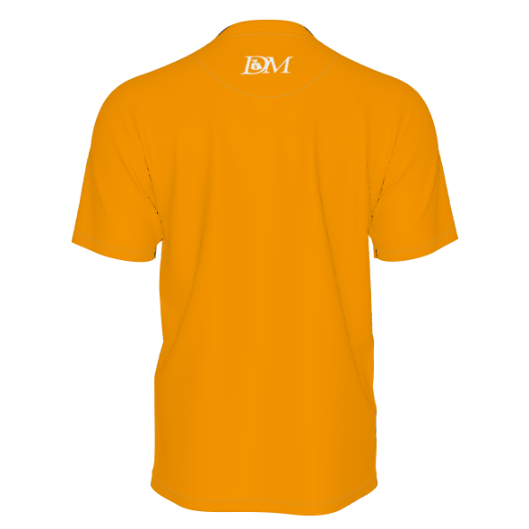 DIRTYMONEY MBF TEE ORANGE/WHITE