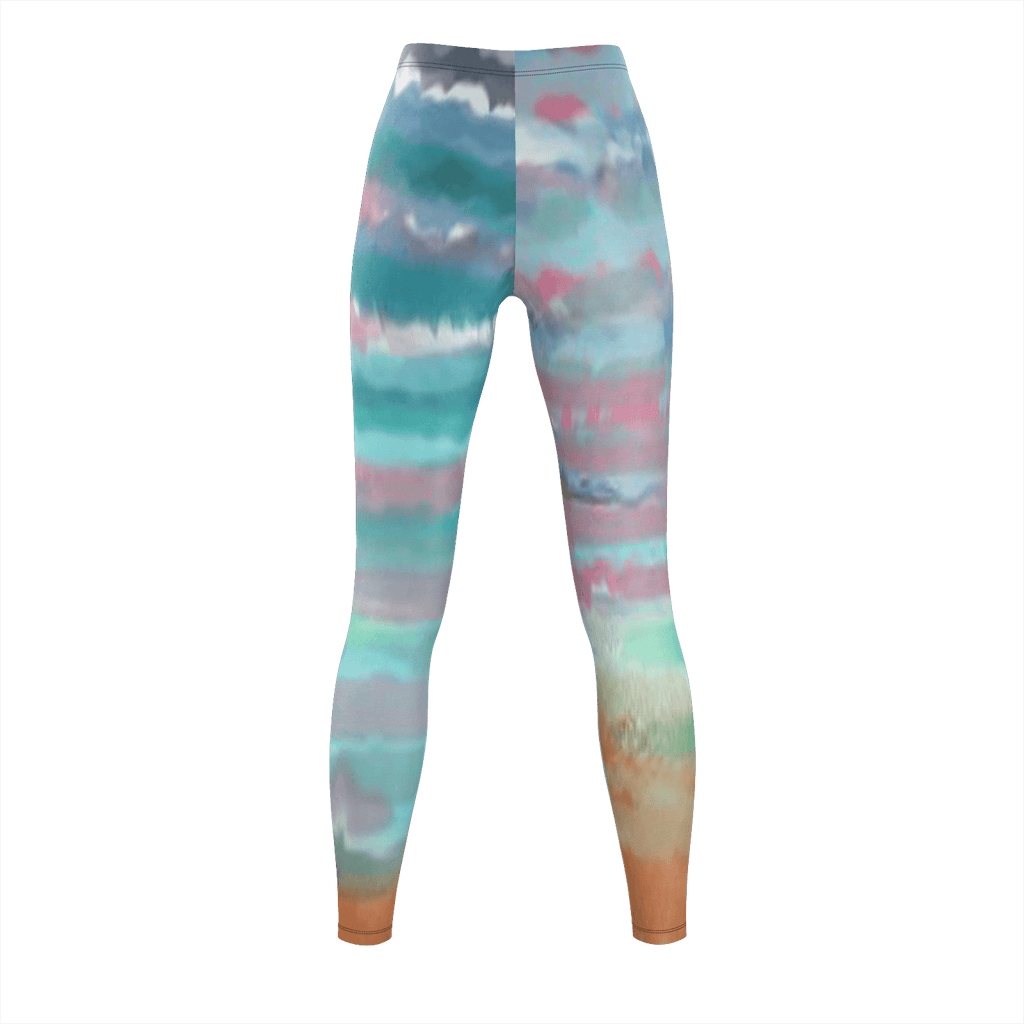 Beach Leggings Designed By Bridgette Edmond