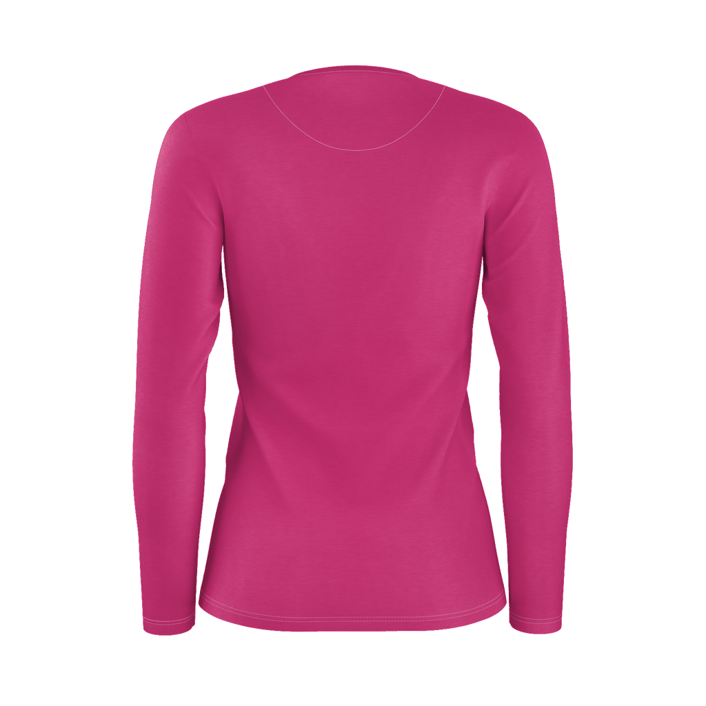 Beetroot Purple Women's Long Sleeve T-Shirt (PIMA)