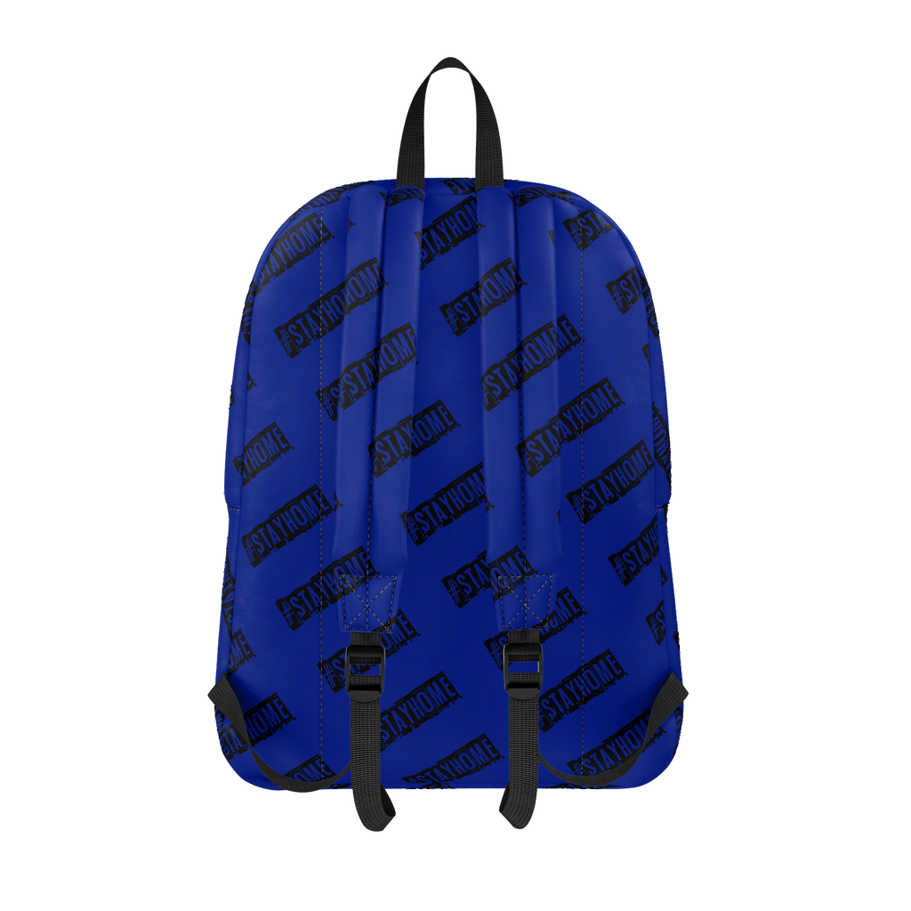 #StayHome Classic Backpack (Navy)