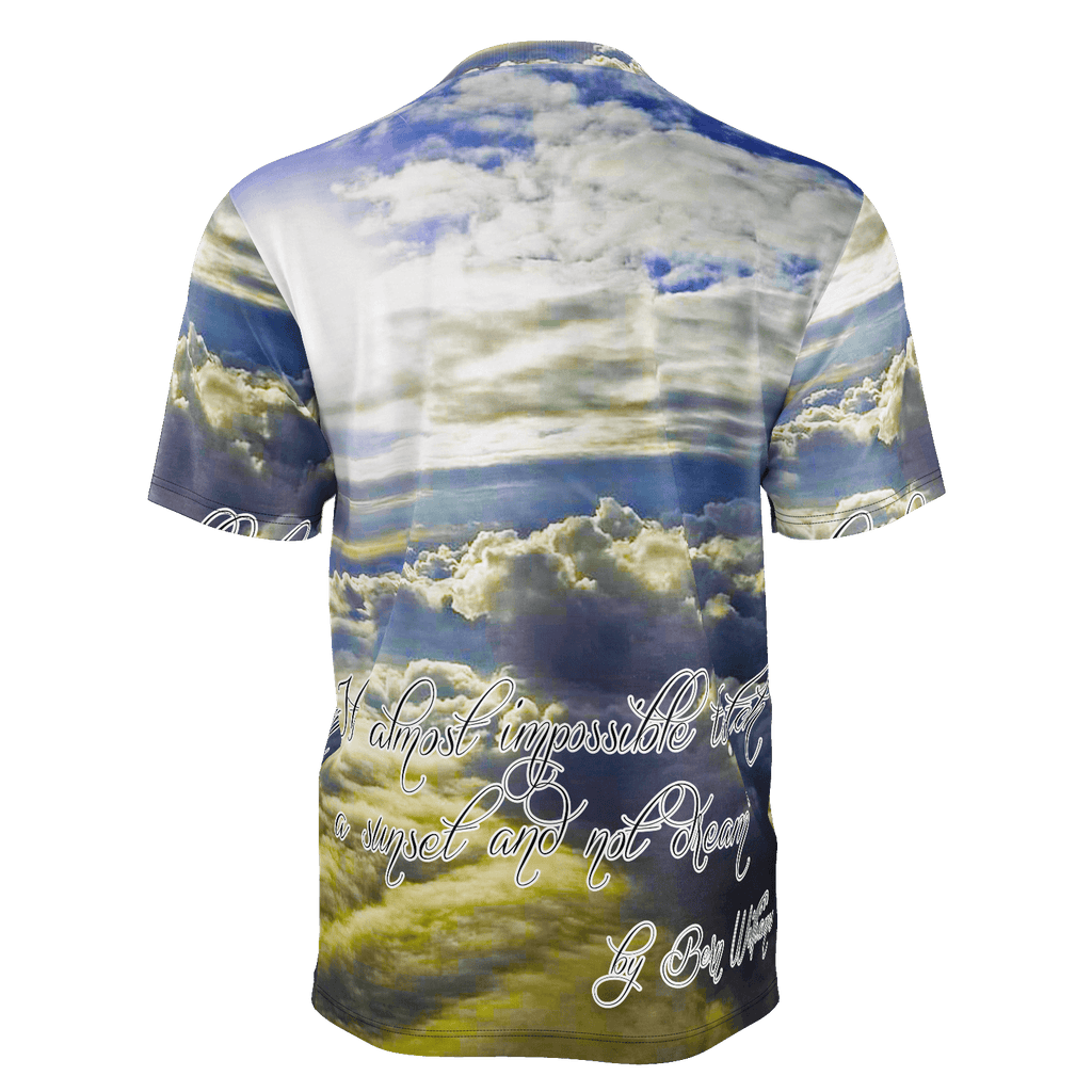 Above the Clouds (Quote) Men's T-Shirt
