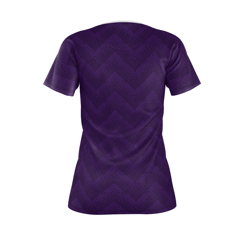 Purple Women's hiPe Japple Checkered T-Shirt