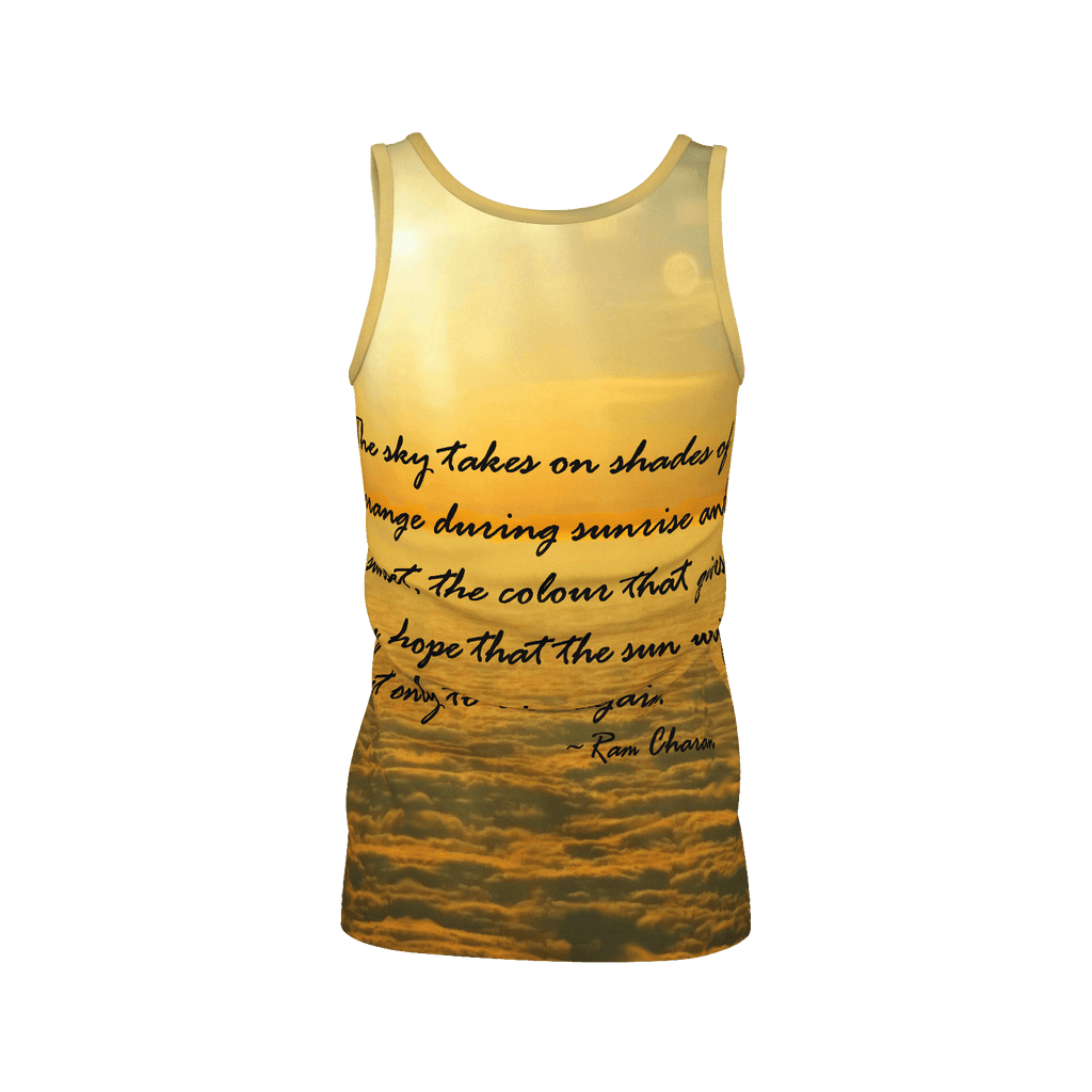 Sea of Clouds (Quote) Women's SJ Tank Top