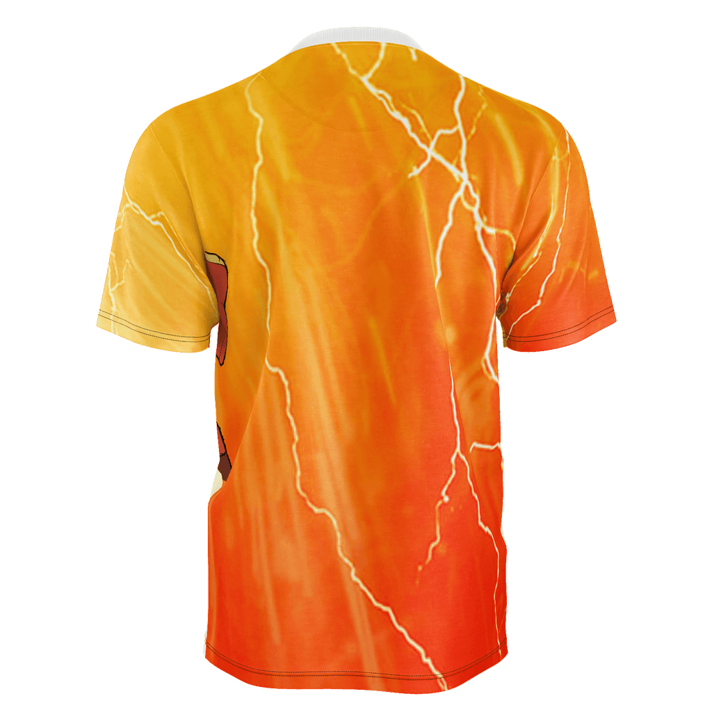 Flash Tshirt W/Lightning Background