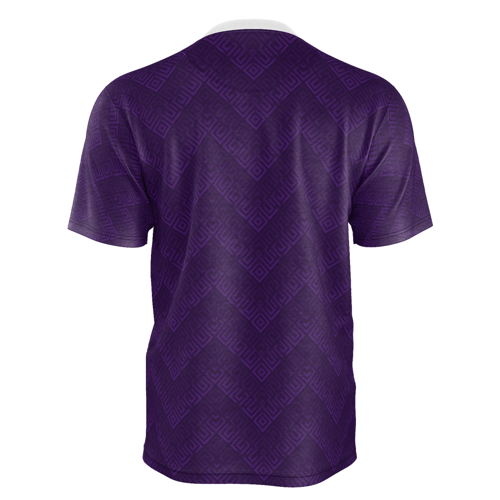 Purple Men's hiPe Japple Checkered T-Shirt