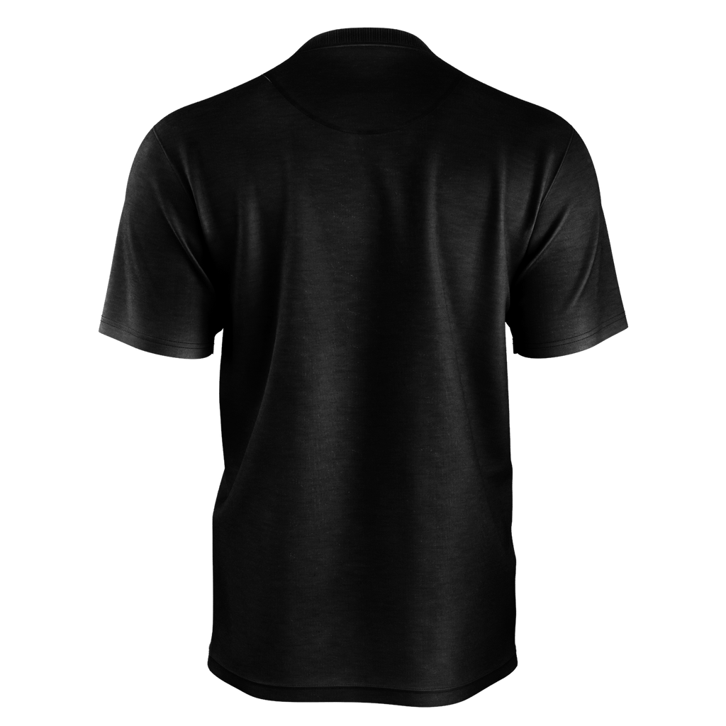 #Happy Men's T-Shirt (Black)