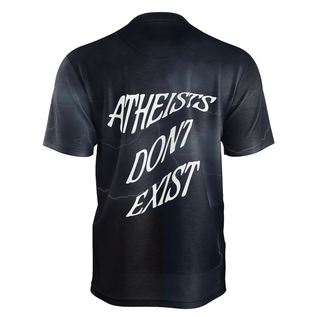 Lord of Lords: Atheists Don't Exist Men's Shirt