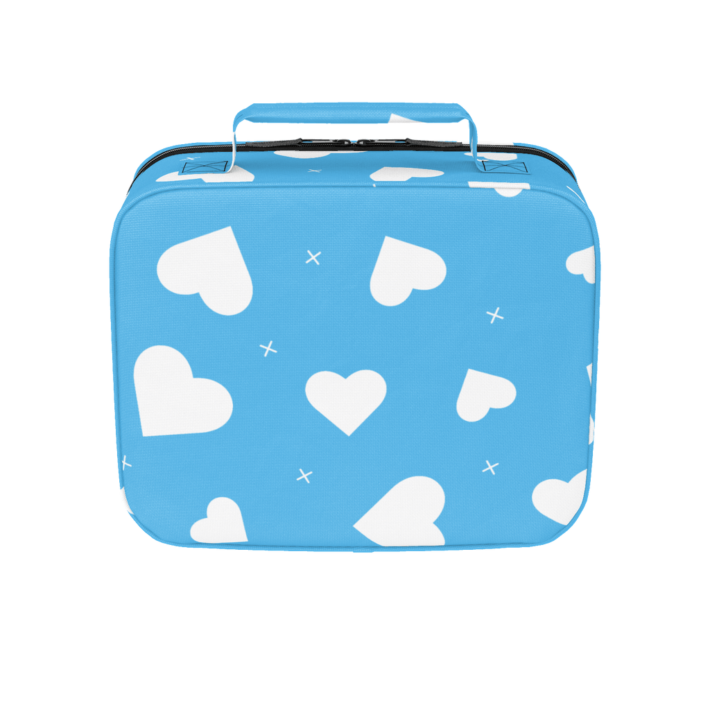 Blue Hearts Lunchbox