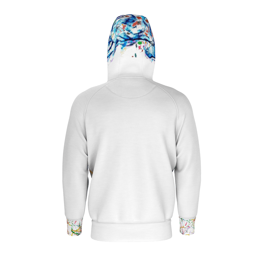 Hooded jacket sweatshirt jacket BlueBalu