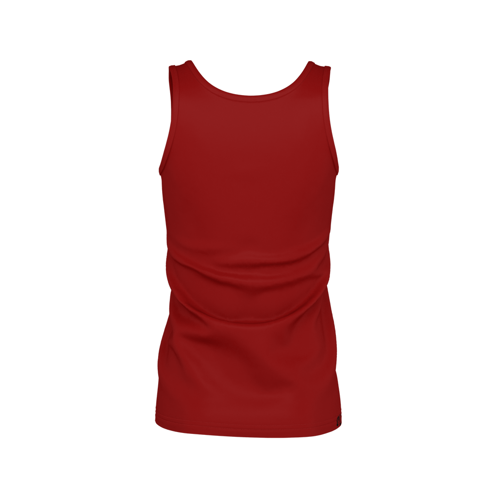 #StayHome Women's SJ Tank Top (Maroon 2)