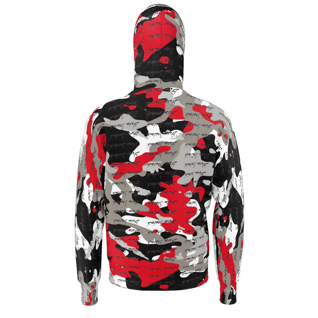 red camo signature hoodie