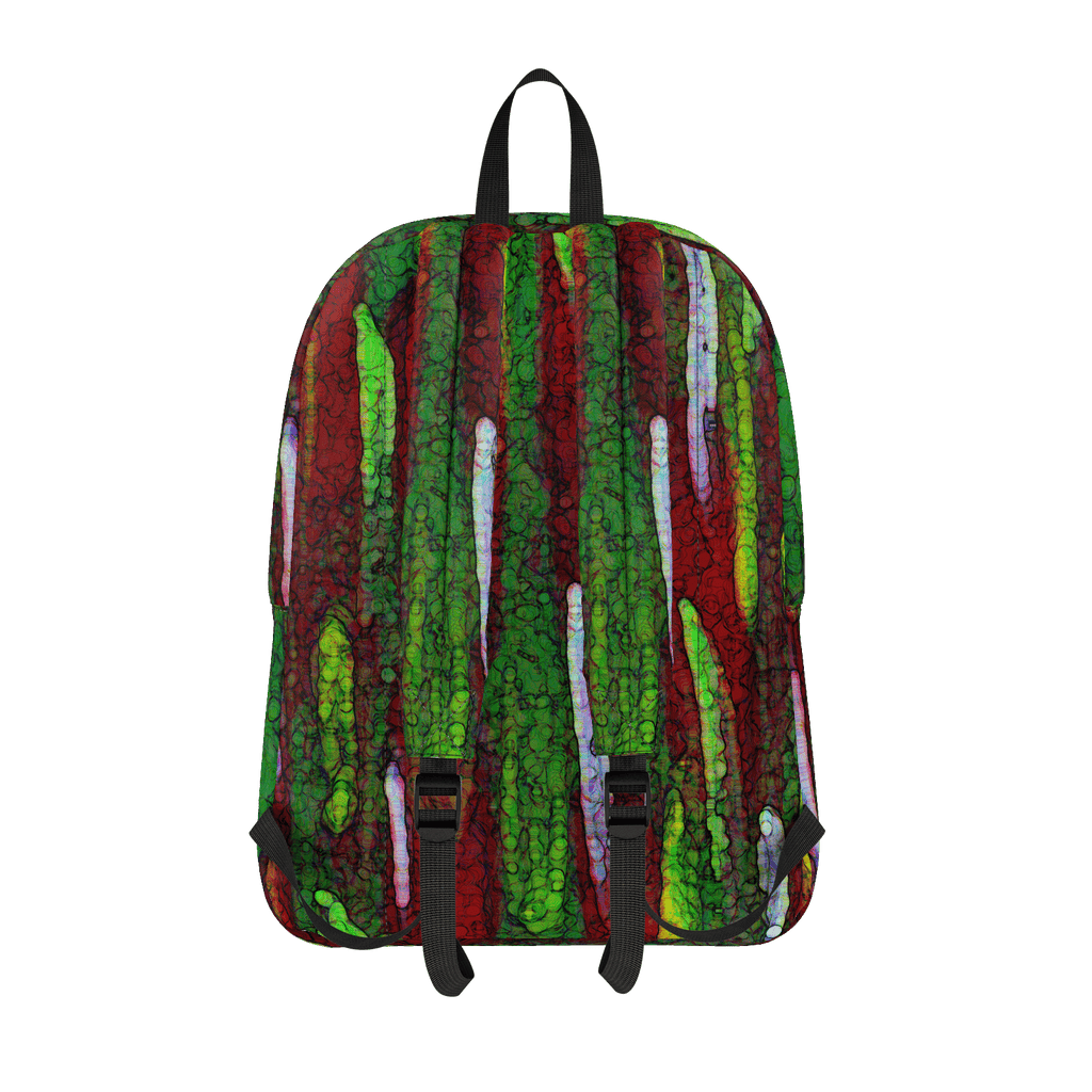 Red Paint Daubs Classic Backpack