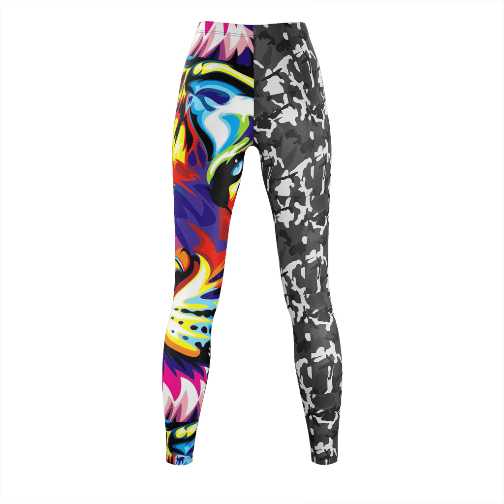 Camo Tiger Remix Leggings