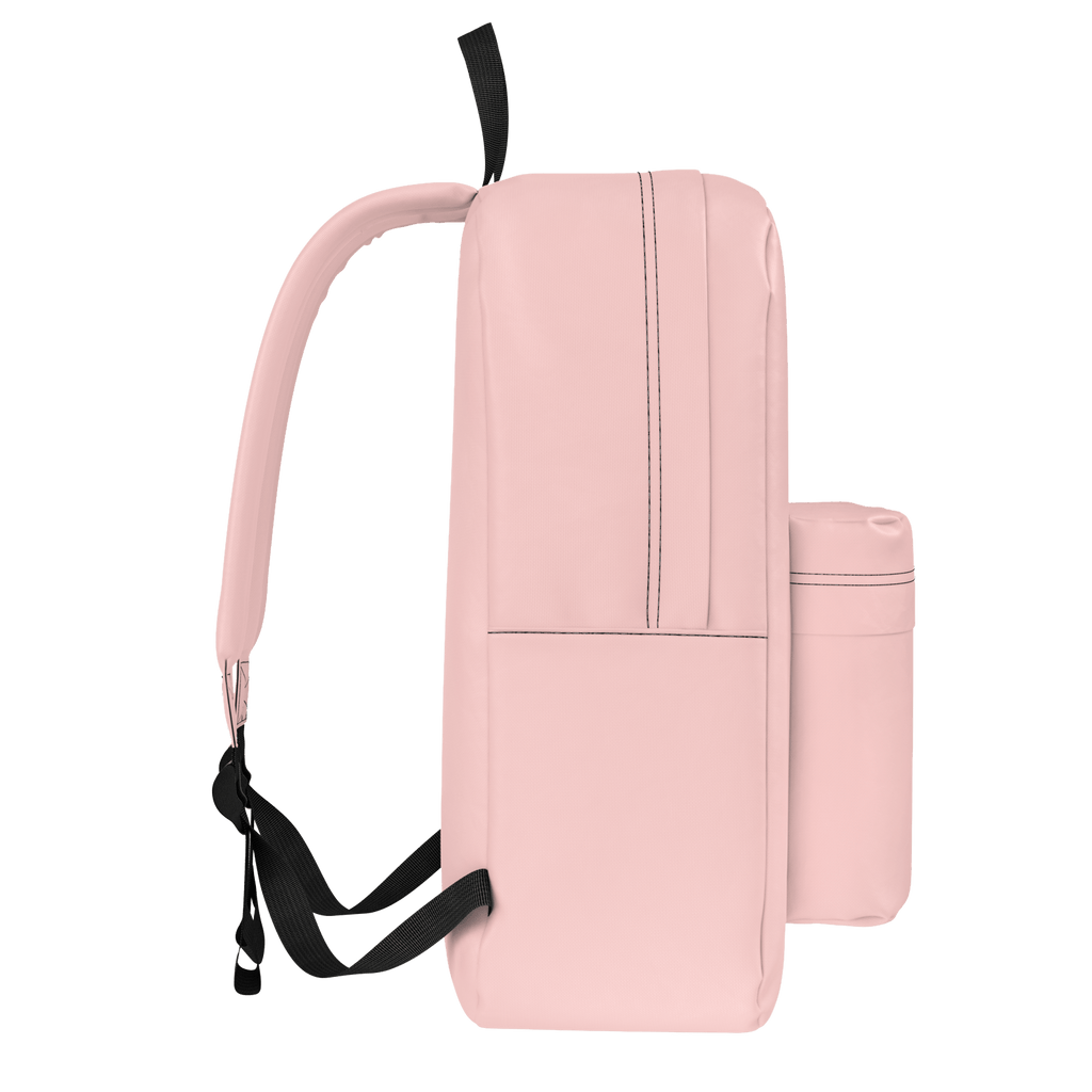 Bright Pink Arelina Logo Backpack