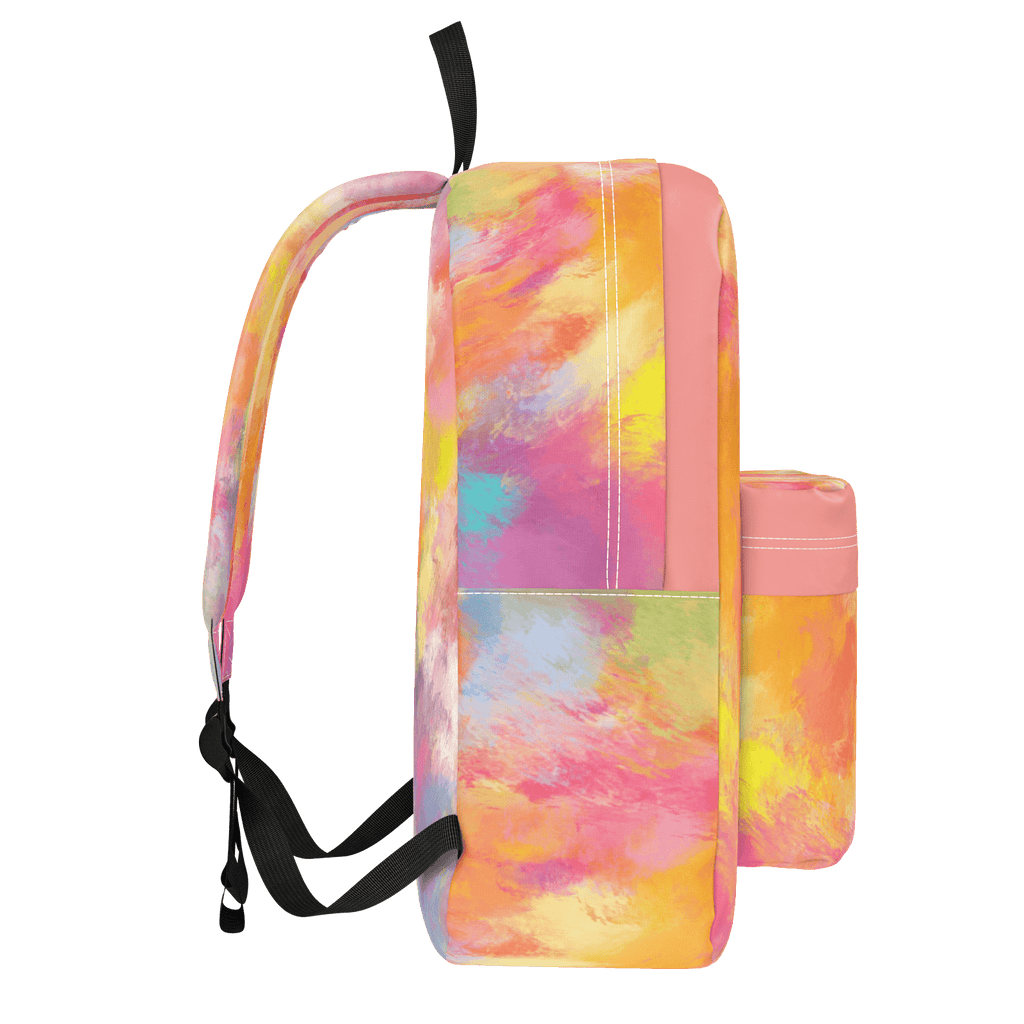Summer Dreams Abstract Oil Painting Backpack