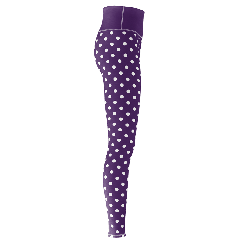 Polka Dot Yoga - Marti Purple