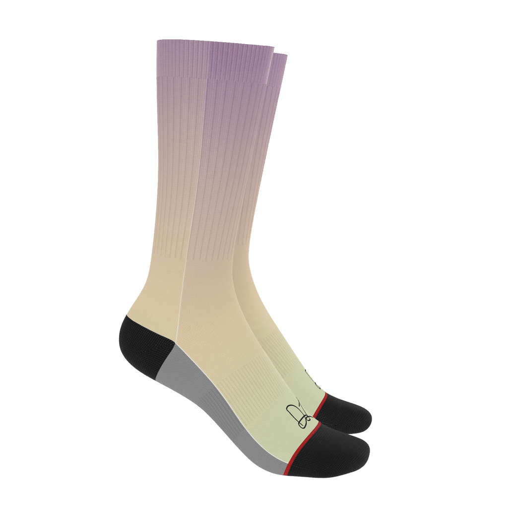DL Gradient Socks