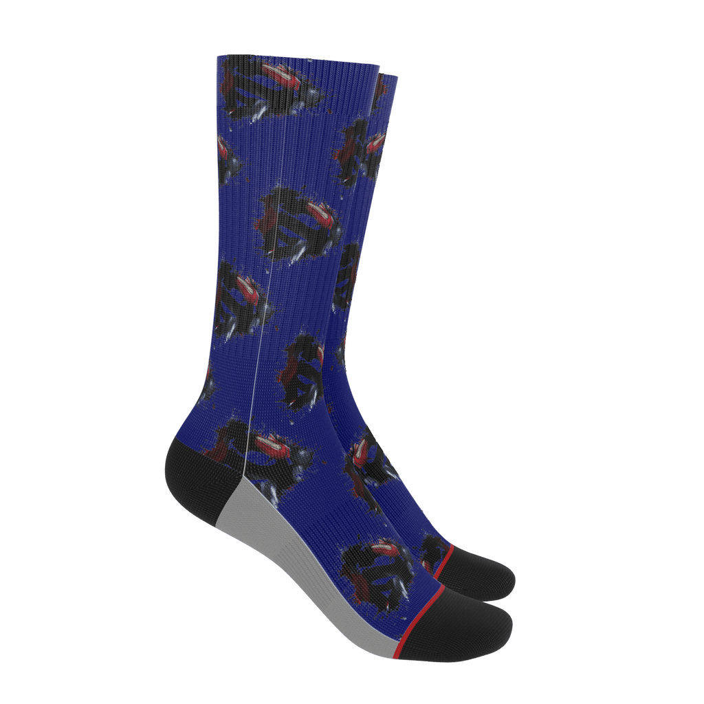 Superman Socks (Classic Fill)