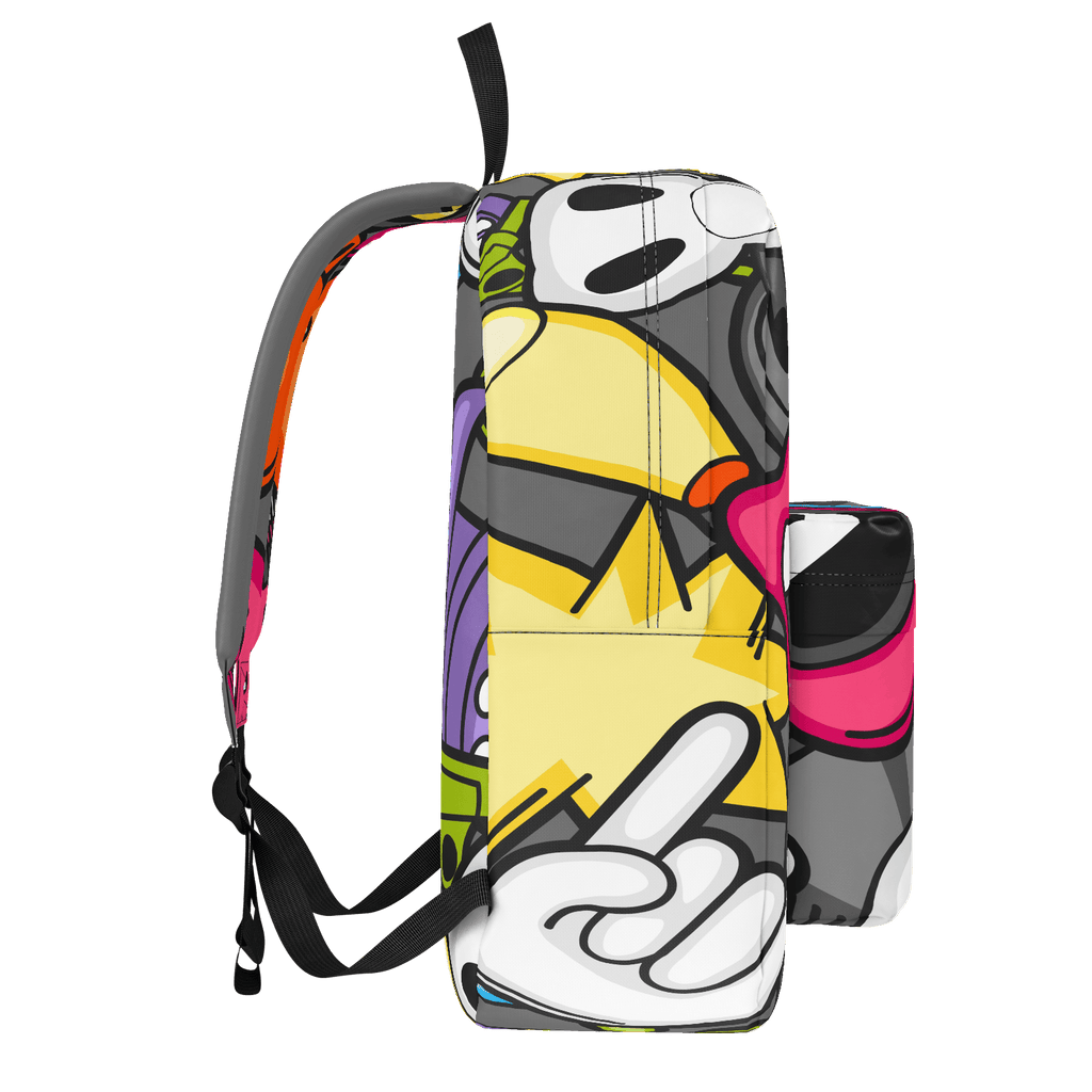 School Bus Aliens Backpack 14