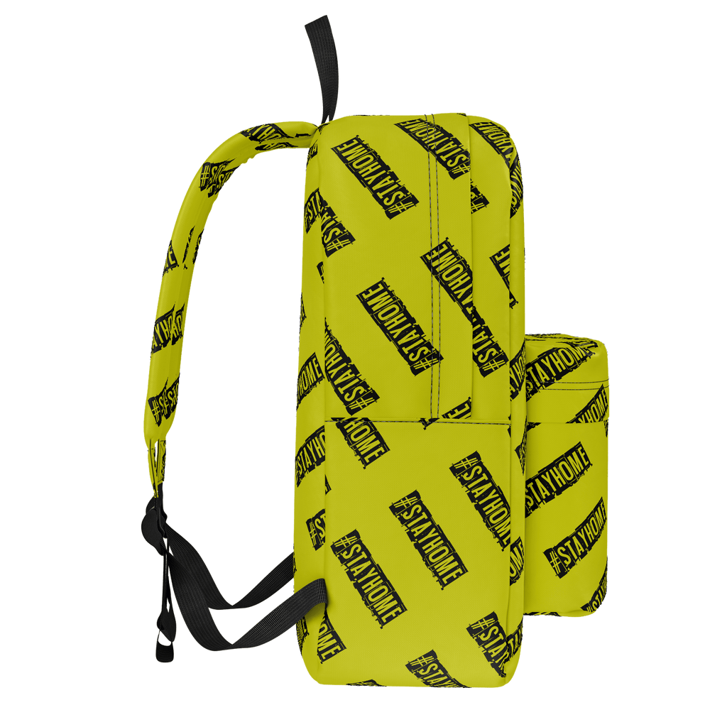 #StayHome Classic Backpack (Mustard)