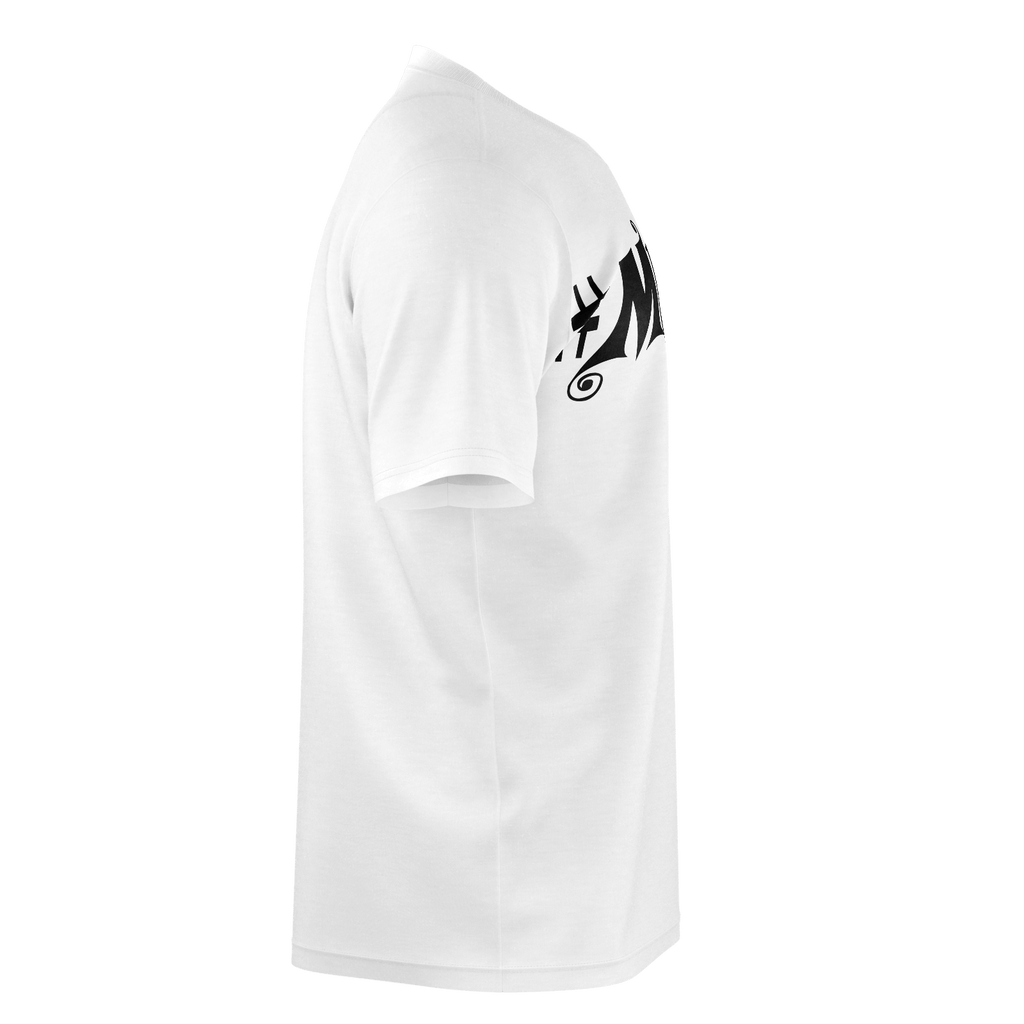 #Music Men's T-Shirt (White)