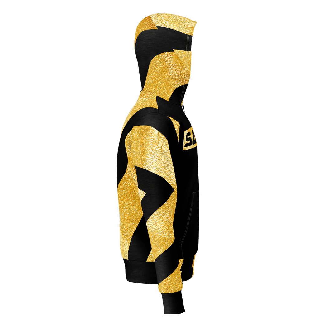 GOLD SAXTON PULLOVER HOODIE