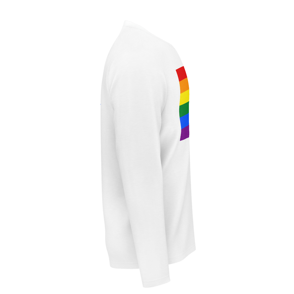 LGBT Color Meanings, Long Sleeve White Shirt