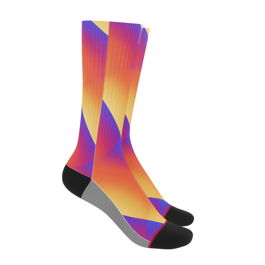 Rolling Color Socks