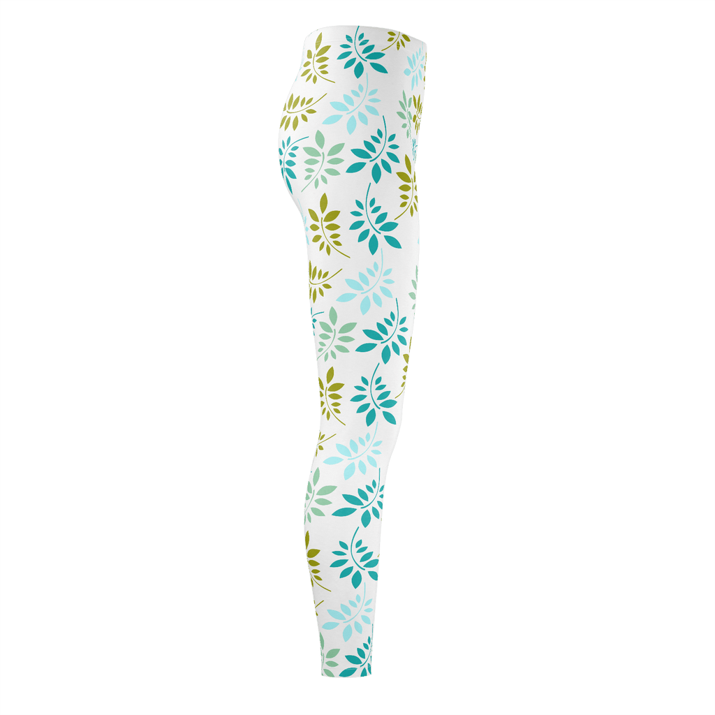 Leaves Pattern Leggings