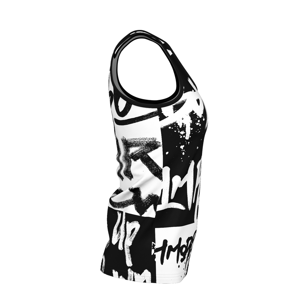 1MR 1st Edition - Womens Graffiti Singlet