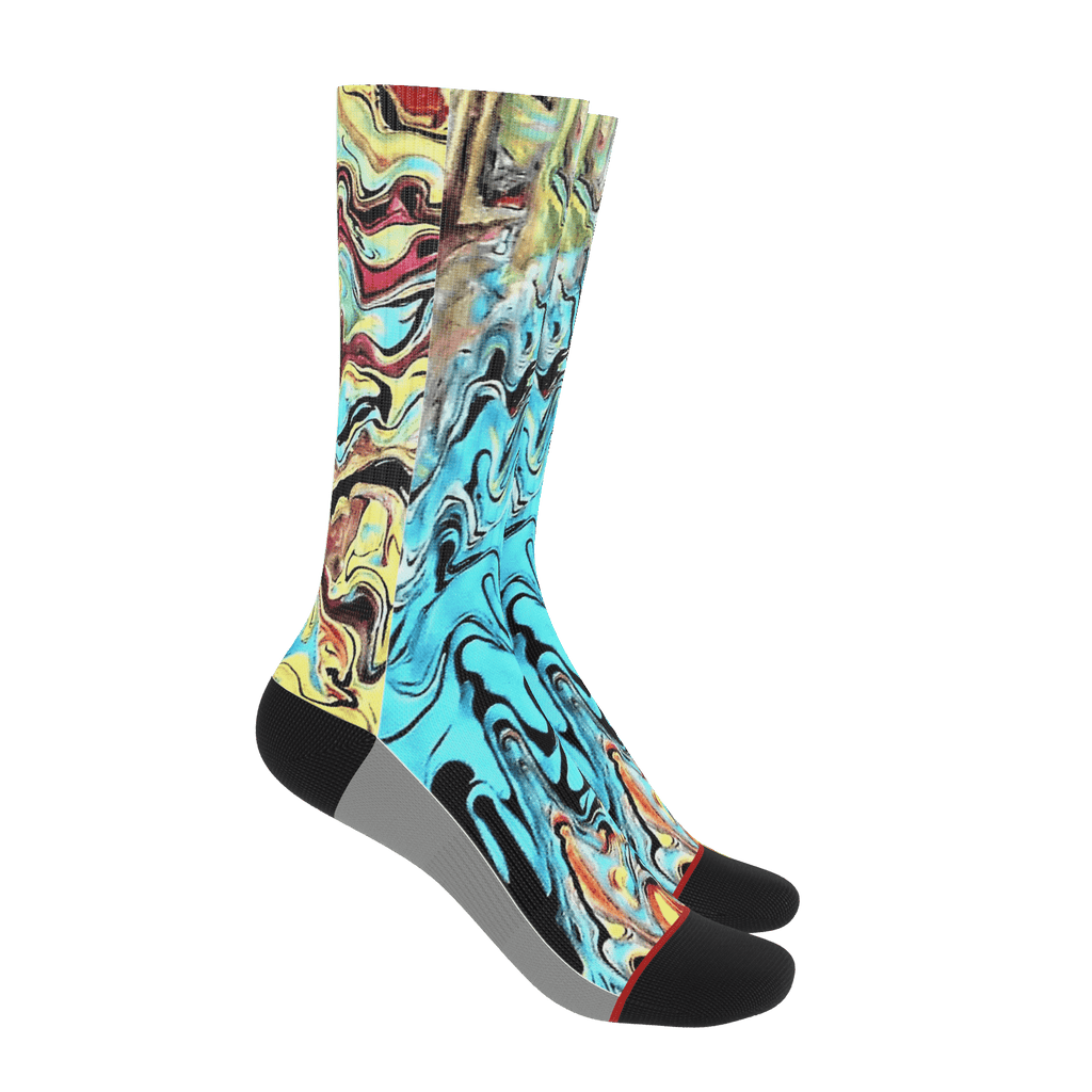 RUNNING CREATIVE SOCKS