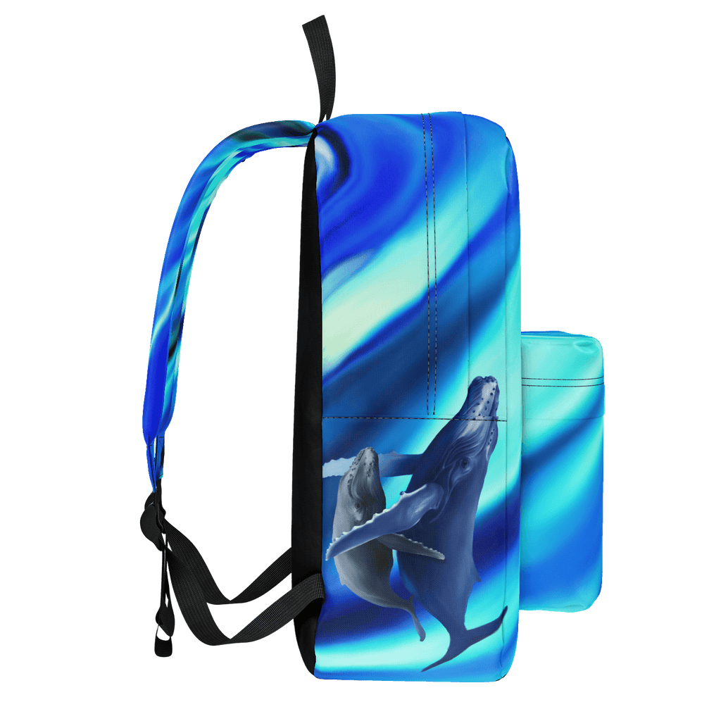 Backpac - whale calf and flow