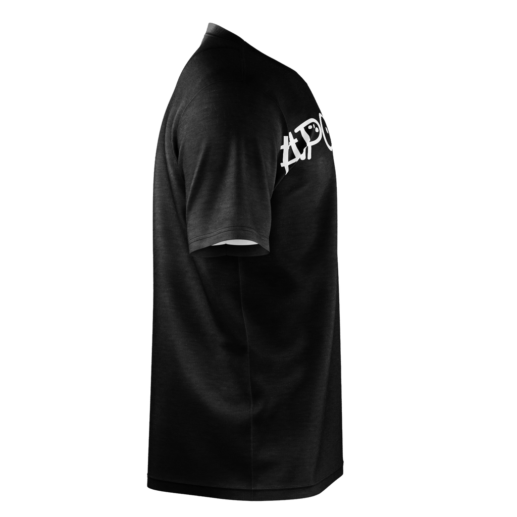 #Party Men's T-Shirt (Black)