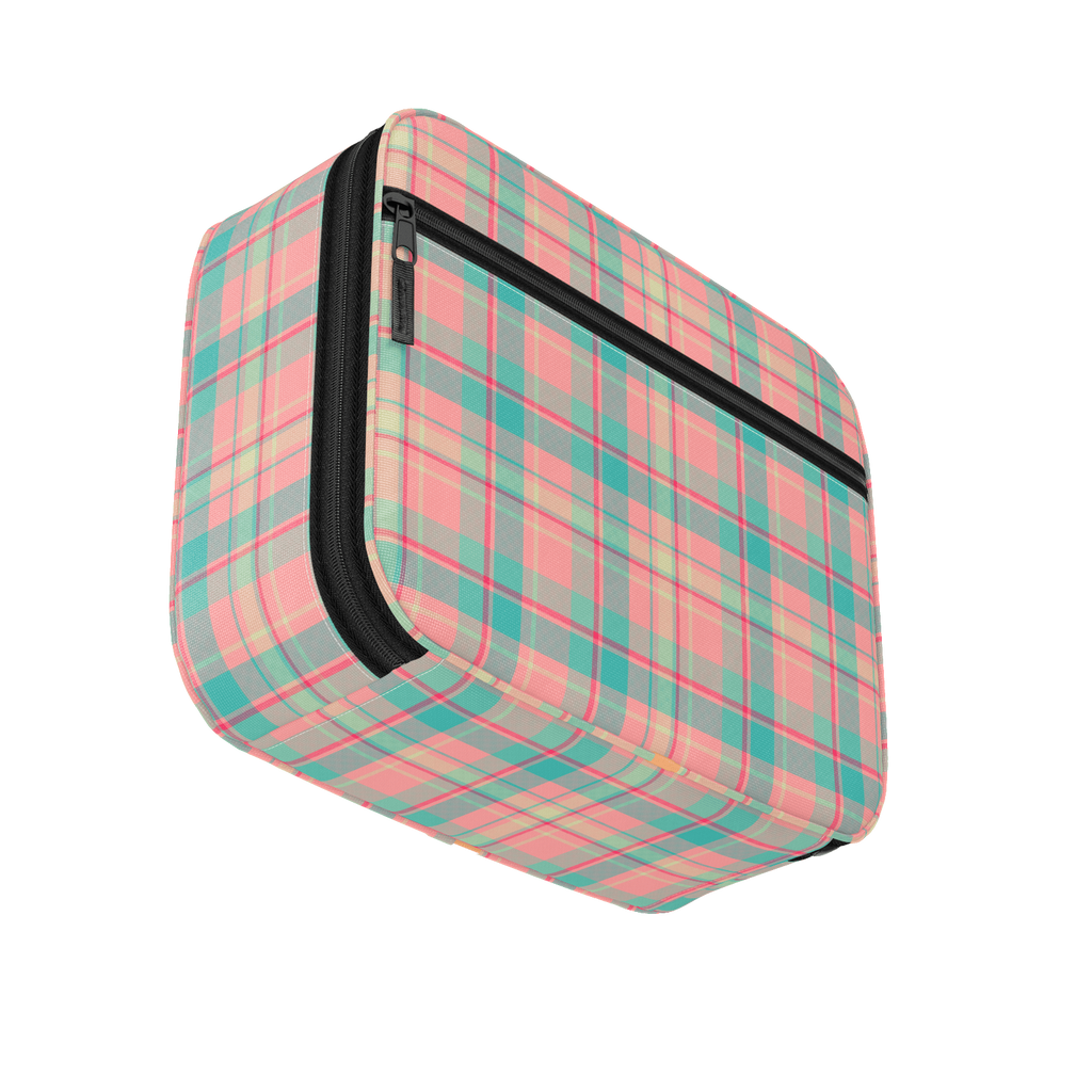 Summer Plaid Twill Lunchbox